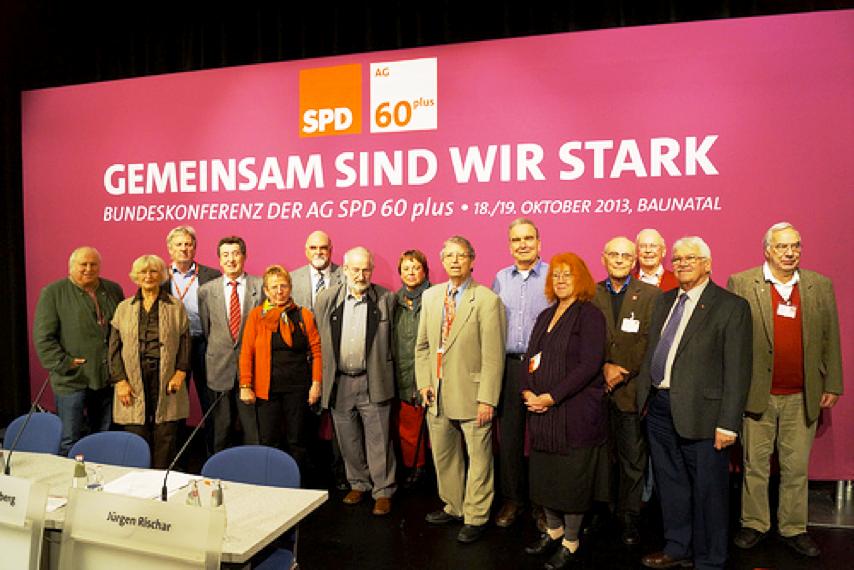 60plus Hessen Sued auf Bundeskonferenz 2013