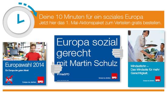 Aktionspaket für die Europawahl